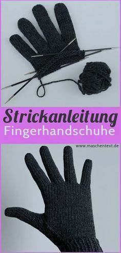 Perfekt Passende Fingerhandschuhe Stricken Gratisanleitung Auf