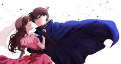 Shinichi und Ran❤ Detective Conan Ran, Detective Conan Shinichi, Ran And Shinichi, Kudo Shinichi, Romantic Anime Couples, Cute Anime Couples, Anime Guys, Manga Anime, Detective Conan Wallpapers