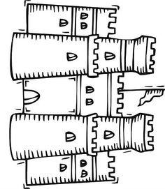 Dibujo de castillo 5