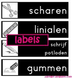 Juf Inger: Labels
