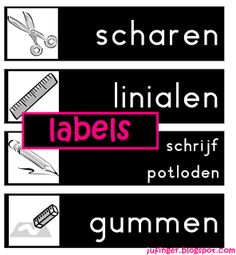 Juf Inger: Labels