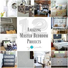 The DIY Housewives share 12 Amazing Master bedroom Projects, MyLove2Create
