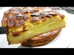 Gătește chiar azi! Mai multe mere decât aluat! Cea mai cremoasă prăjitură cu mere. Olesea Slavinski - YouTube Cake Factory, French Toast, Cake Cookies, Biscotti, Apple Pie, No Cook Desserts, Muffins, Sweets, Breakfast