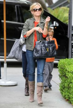 reese witherspoon now | Reese Witherspoon And Her Kids Arriving At The W Hotel For Deacon's ...