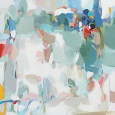 """Florida, 48"""" by 48"""" by Christina Baker available at Gregg Irby Gallery"""