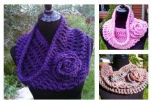 Soft and Stylish Cowl FREE Crochet Pattern You Will Love Wearing