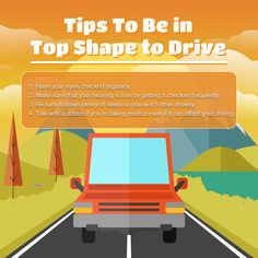 Tips To Be in Top Shape to Drive  #Tips #AmcoInsurance Insurance Benefits, How To Get, How To Plan, Peace Of Mind, Mindfulness, Shape, Tips, Fit, Hacks