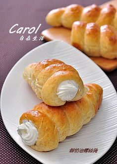 Carol 自在生活 : 鮮奶油螺絲捲
