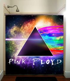 PINK FLOYD printed waterproof polyester fabric shower curtain with latest design. Ourdesign will brighten your bathroom and create a comfortable bathing environment. This polyester shower curtain is able to print a vast range of colors with a fine degree of detail. In addition, this tough durable fabric allows for easy cleaning. Images imprinted using heat dye sublimation technique for lasting effects.
