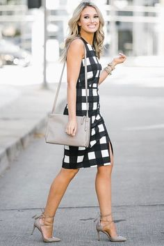 Black and White: Perfect Combination |||| Work Outfits for women ||| Casual Work Outfits || 40 Fashionable Work Outfits For Women In 2018