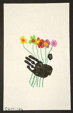 Splish Splash Splatter: Picasso's Hands with Flowers