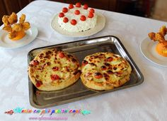 Childrens day menu, 3 video recipes.