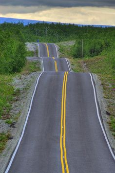 Road | Road to Kilpisjärvi