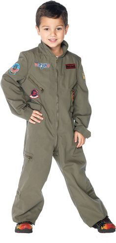 Top Gun - Flight Suit Toddler / Child Girl's Costume