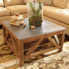 """Holden 32"""" Square Coffee Table"""
