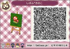 Animal Crossing: New Leaf QR Code Paths Pattern