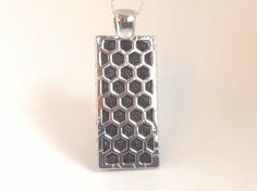 Fitbit Flex / Flex 2 pendant / necklace  Rectangle by techGLAM