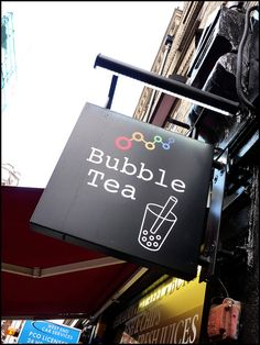 Bubble Tea, London, England - my granddaughter introduced me to this while visiting her in Hawaii
