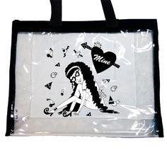 Product name: Big clear back by KOBINAI Designer name:KOBINAI producer Yoshihashi Mai