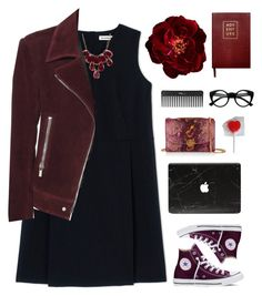 """""""Valentines #3"""" by genesis129 ❤ liked on Polyvore featuring Converse, Jil Sander, Charlotte Russe, Balenciaga, Sloane Stationery, Retrò, Marc Jacobs, Sephora Collection, women's clothing and women"""