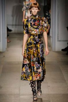 Erdem Autumn/Winter 2017 Ready-To-Wear Collection | British Vogue