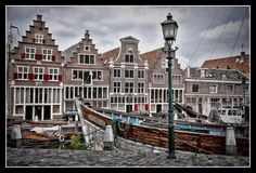 De oude haven in Hoorn (N-H)
