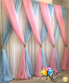 This Would Be Super Cute As A Backdrop For A Unicorn Birthday Party Orrr For Every Day Use In A Unicorn Themed Girls Room (diy party decorations for girls) Fiesta Shower, Shower Party, Shower Games, Baby Shower Gender Reveal, Baby Shower Themes, Shower Ideas, Baby Shower Wall Decor, Fancy Baby Shower, Unicorn Baby Shower