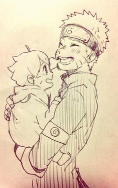 Boruto & Naruto ~ Father & Son's Time :3 <3