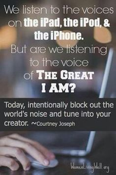 #Quote #WomenLivingWell #Voices #iPad #iPod #iPhone #world #noise #creator