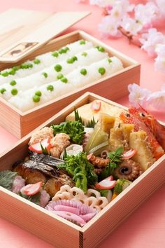 Spring Bento Box for Sakura Viewing 2013