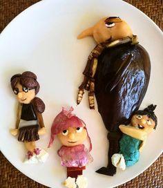 #despicableme #minions #foodart #pickyeaters #funfood #cutefood #funnyfood #donkeyandthecarrot #foivigeller