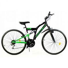 "GOETZE CORE férfi kerékpár 26"" - fekete/zöld Bicycle, Vehicles, Bike, Bicycle Kick, Bicycles, Car, Vehicle, Tools"