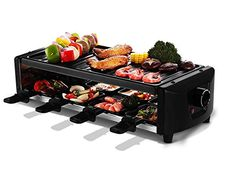 Environmental Twolayer Electric Grill BBQ Grill and Teppanyaki Grill Stainless Steel -- Details can be found by clicking on the image.(This is an Amazon affiliate link and I receive a commission for the sales)