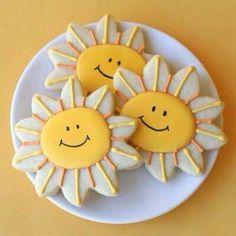 Sunshine cookies for kids