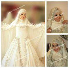 cloak hijab for muslim brides Wedding Veil, Wedding Gowns, Bridal Hijab, Muslim Brides, Bridal Cape, Bridal Headpieces, Bridal Style, Hijab Fashion, Marie