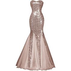 Womens Glamour Sweetheart Sequin Mermaid Long Mermaid Prom Dress (245 BRL) ❤ liked on Polyvore featuring dresses, sequin cocktail dresses, long prom dresses, long sequin dresses, sweetheart cocktail dress and sweetheart dresses