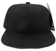 Children's All Black SnapBack Hat