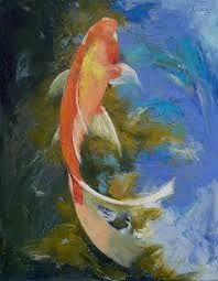 koi painting - Google Search