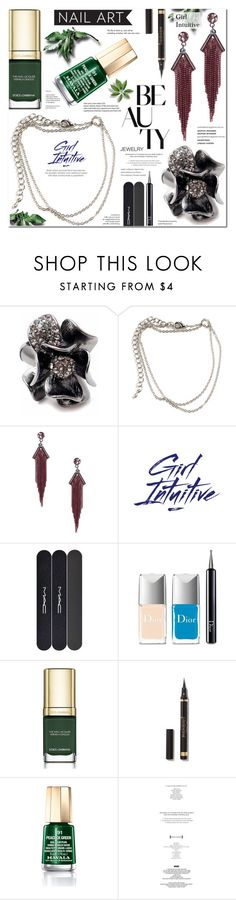 Girl Intuitive 19 by anyasdesigns on Polyvore featuring Dolce&Gabbana, Mavala, MAC Cosmetics, Christian Dior, StyleNanda and Tiffany & Co.