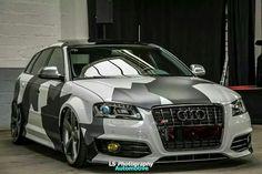 Audi in camo