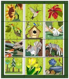 Quilt Art Designs: In the Garden News!