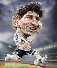 Caricaturas de Messi                                                       …
