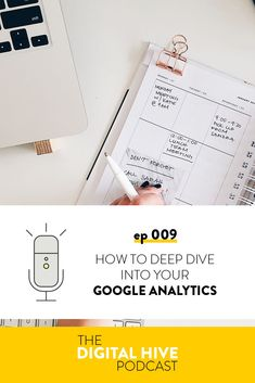 In this episode we're talking about how to go through Google Analytics and find out information about how people use your website, so you can find room for improvement and track your progress over time. Marketing Articles, Email Marketing, Content Marketing, People Use You, Seo For Beginners, Google Analytics, Online Coaching, Make Money Blogging, Social Media Tips