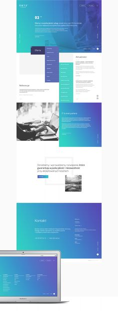 Netz™ Identity / Web : OESU x MANY COLORS on Behance