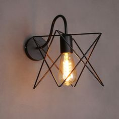 Item Type: Wall Lamps Certification: CE,RoHS,CCC Technics: Painted Brand Name: BVLAMSSI Power Source: AC Body Material: Iron Base Type: E27 Shade Type: Shadeless Model Number: WL-3574 vintage wall lam