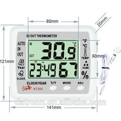 Large garden thermometer KT204