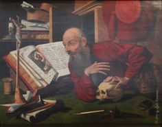 St. Jerome in his Study,  Reymerswade from 1560