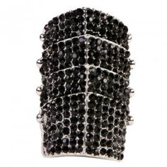 Armory Black Ring - $37 #women #fashion #jewelry