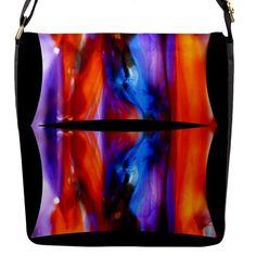 melted me by saprillika Flap Closure Messenger Bag (L)