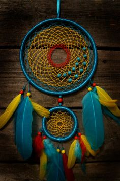 Brillante sueño catcher azul atrapasueños por MyFantasticDreams